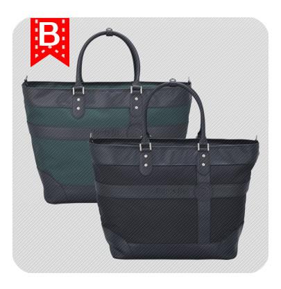 ルーツトートバッグ ※ブラック か グリーン お好きなカラーをお選び頂けます